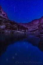 Big Dipper Reflection Colorado River, Grand Canyon
