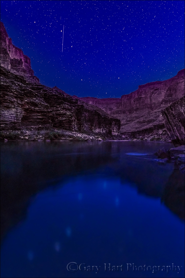 Gary Hart Photography: Big Dipper Reflection, Colorado River, Grand Canyon
