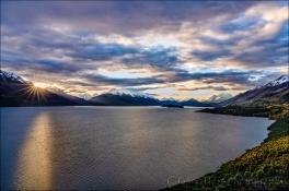 Gary Hart Photography: Last Light, Lake Wakatipu, New Zealand