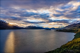 Gary Hart Photography: Last Light, Lake Wakatipu, New Zealand