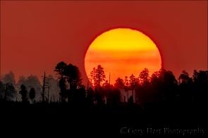 Gary Hart Photography: Big Sun, Bright Angel Point, Grand Canyon