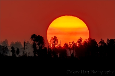 Gary Hart Photography: Big Sun, Bright Angel Point, Grand Canyon