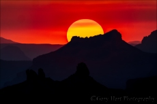 Gary Hart Photography: Color and Shape, Grand Canyon Sunset, Desert View