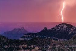 Sunset Lightning, Grand Canyon