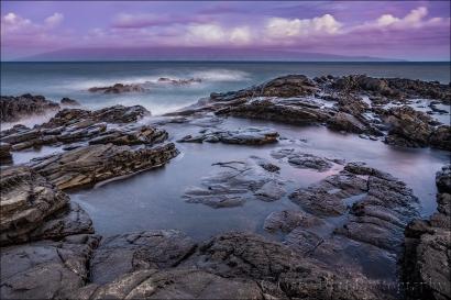 Gary Hart Photography: Sunrise Reflection, Dragon's Teeth, Maui