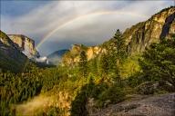 Gary Hart Photography: Summer Rainbow, Yosemite Valley