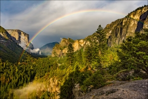 Gary Hart Photography: Summer Rainbow, Yosemite Valley