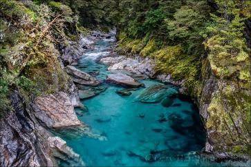Gary Hart Photography: Blue Pools, Haast Pass, New Zealand