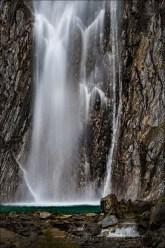 Gary Hart Photography: Thunder Creek Fall, Haast Pass, New Zealand