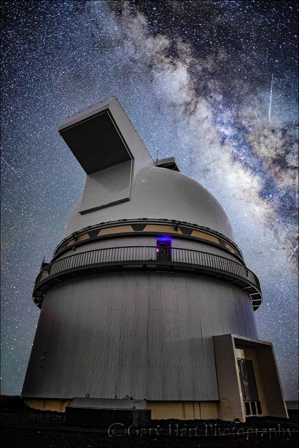Gary Hart Photography: Look to the Sky, Milky Way and Mauna Kea Gemini Observatory, Hawaii