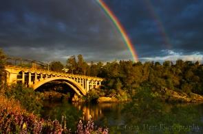 Gary Hart Photography: Rainbow Bridge, Folsom, California