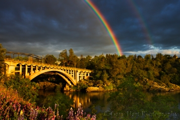 Gary Hart Photography: Rainbow Bridge, Folsom, California