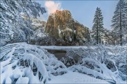Gary Hart Photography: Fresh Snow, El Capitan, Yosemite