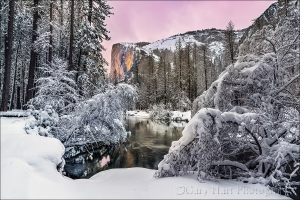Gary Hart Photography: Winter Glow, El Capitan, Yosemite