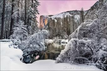 Gary Hart Photography: Winter Glow, El Capitan, Yosemite