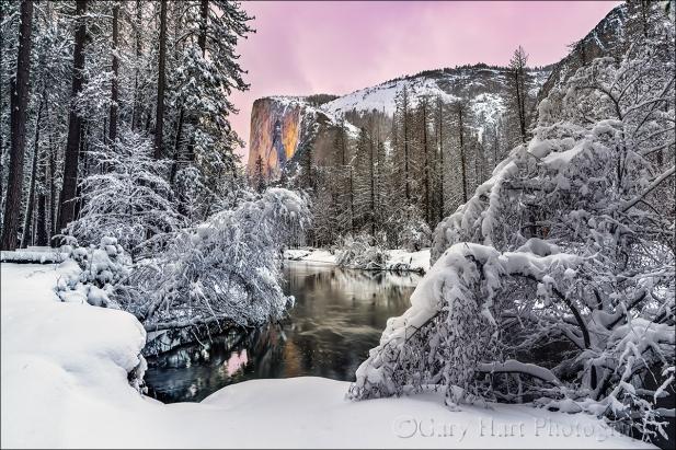 Gary Hart Photography: El Capitan Glow, Yosemite