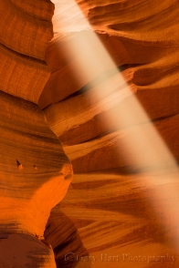 Gary Hart Photography: Beam, Upper Antelope Canyon, Arizona