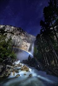Moonbow, Lower Yosemite Fall, Yosemite