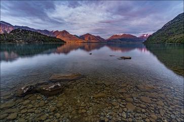 Water Like Glass, Lake Wakatipu, New Zealand
