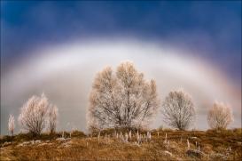 Gary Hart Photography: Fogbow, Wairepo Arm, New Zealand