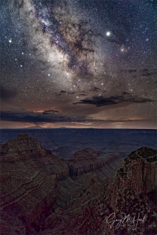 Gary Hart Photography: Galactic Core, Cape Royal, Grand Canyon