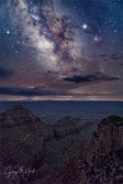 Gary Hart Photography: Monsoon Milky Way, Cape Royal, Grand Canyon