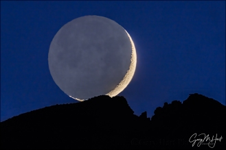 Gary Hart Photography: Setting Crescent, Sierra Crest, Alabama Hills (California)