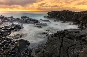 Gary Hart Photography: Golden Sunrise, Puna Coast, Hawaii Big Island