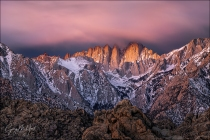 Gary Hart Photography: Dawn's Early Light, Mt. Whitney, Alabama Hills, California