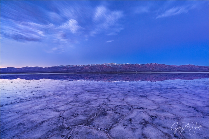Gary Hart Photography: Blue Hour, Badwater, Death Valley