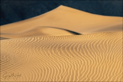 Gary Hart Photography: Dune Patterns, Mesquite Dunes, Death Valley
