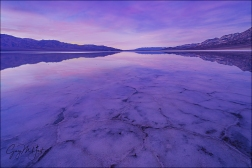 Gary Hart Photography: Twilight Reflection, Badwater, Death Valley