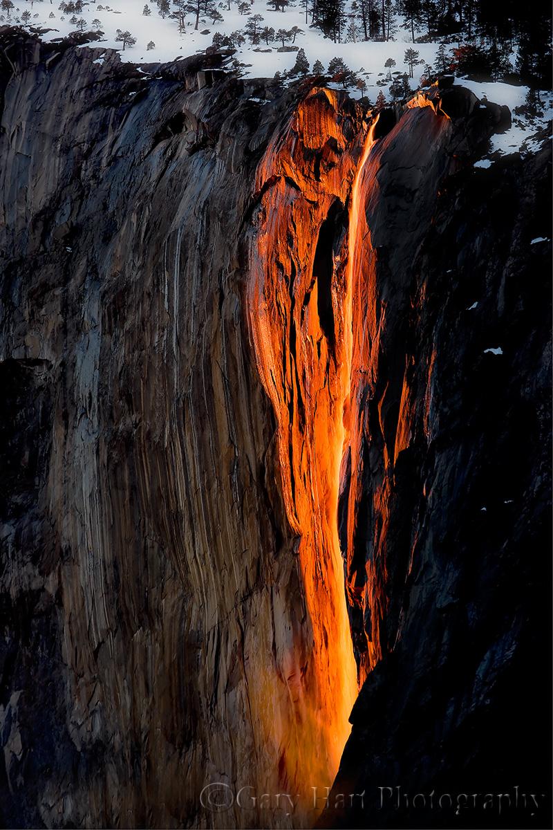Gary Hart Photography: Horsetail Fall, El Capitan, Yosemite
