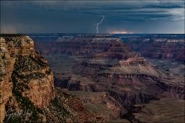 Gary Hart Photography: Lightning Strike, Grand Canyon