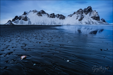 Gary Hart Photography: Blue Hour, Vestrahorn, Iceland