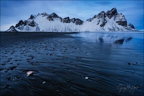 Gary Hart Photography: Blue Hour, Vestrahorn, Iceland