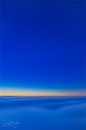 Gary Hart Photography: Almost Heaven, Big Dipper Above the Clouds, Big Sur