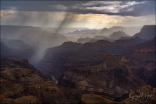 Gary Hart Photography: Summer Storm, Lipan Point, Grand Canyon