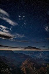 Gary Hart Photography: Comet NEOWISE and the Big Dipper, Grandview Point, Grand Canyon