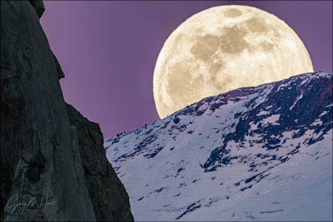 Gary Hart Photography: Lunar Arrival, El Capitan and Clouds Rest, Yosemite