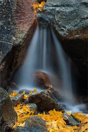 Gary Hart Photography: Autumn Veil, Bridalveil Creek, Yosemite