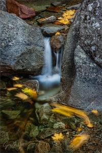 Gary Hart Photography: Autumn Drift, Bridalveil Creek, Yosemite
