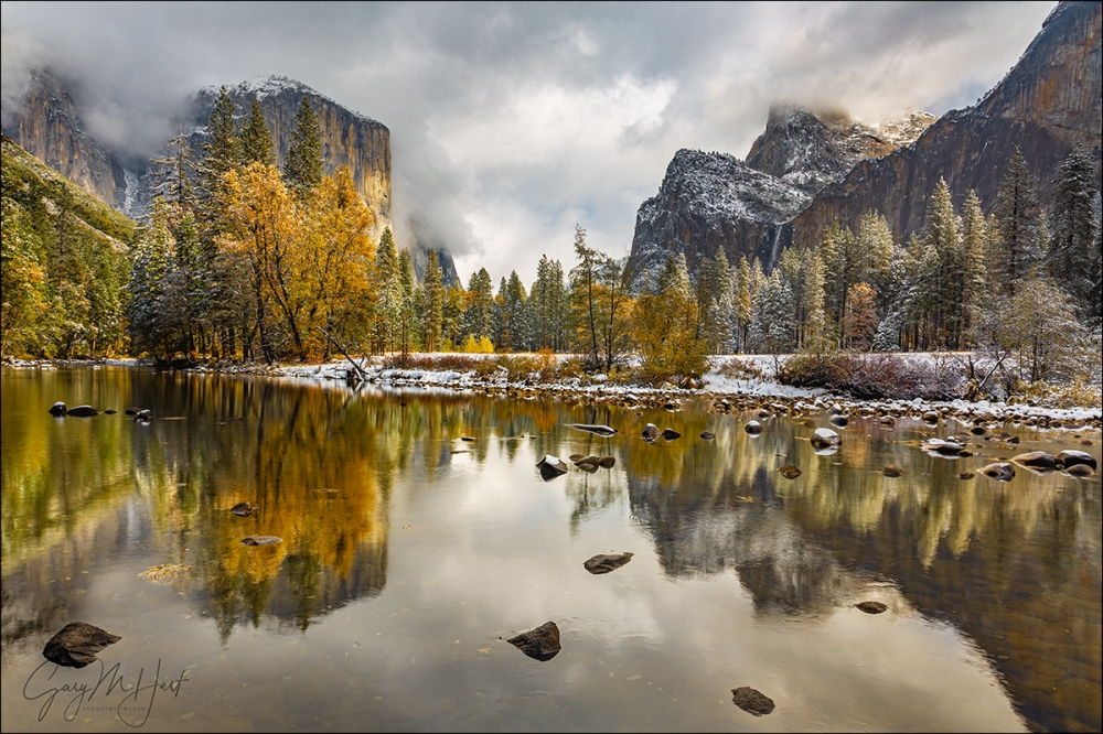 Gary Hart Photography: Two Seasons, Valley View, Yosemite