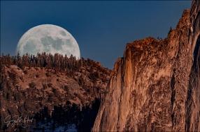 Gary Hart Photography: Lunar Arrival, Half Dome, Yosemite