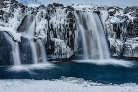 Gary Hart Photography: On Ice, Kirkjufellsfoss, Iceland