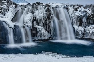 Gary Hart Photography: On Ice, Kirkjufellsfoss, Iceland