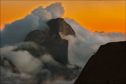 Gary Hart Photography: Out of the Clouds, Half Dome from Olmsted Point, Yosemite