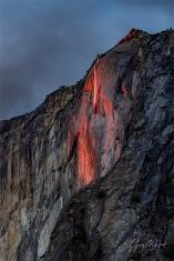Gary Hart Photography: Last Light, Horsetail Fall, Yosemite