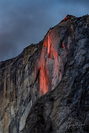 Gary Hart Photography: Last Light, Horsetail Fall, Yosemite