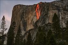 Gary Hart Photography: Horsetail Fall, El Capitan Picnic Area, Yosemite